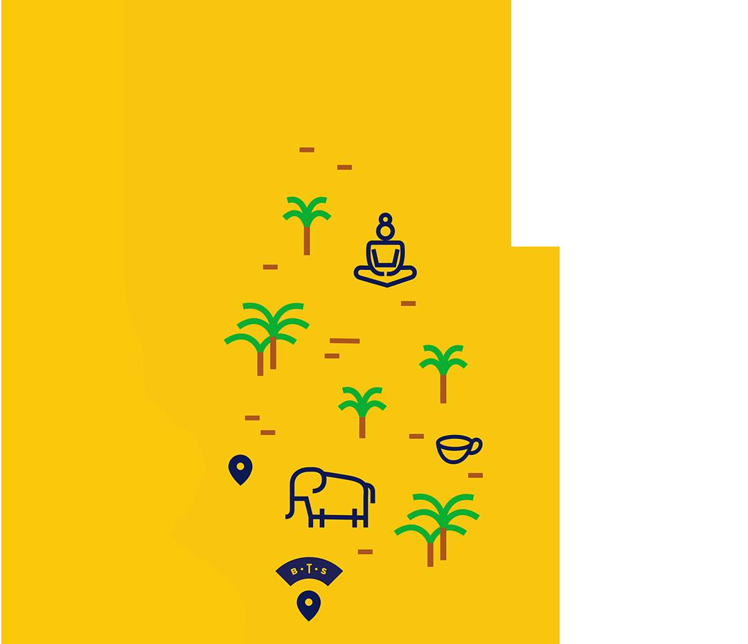 Sri Lanka map