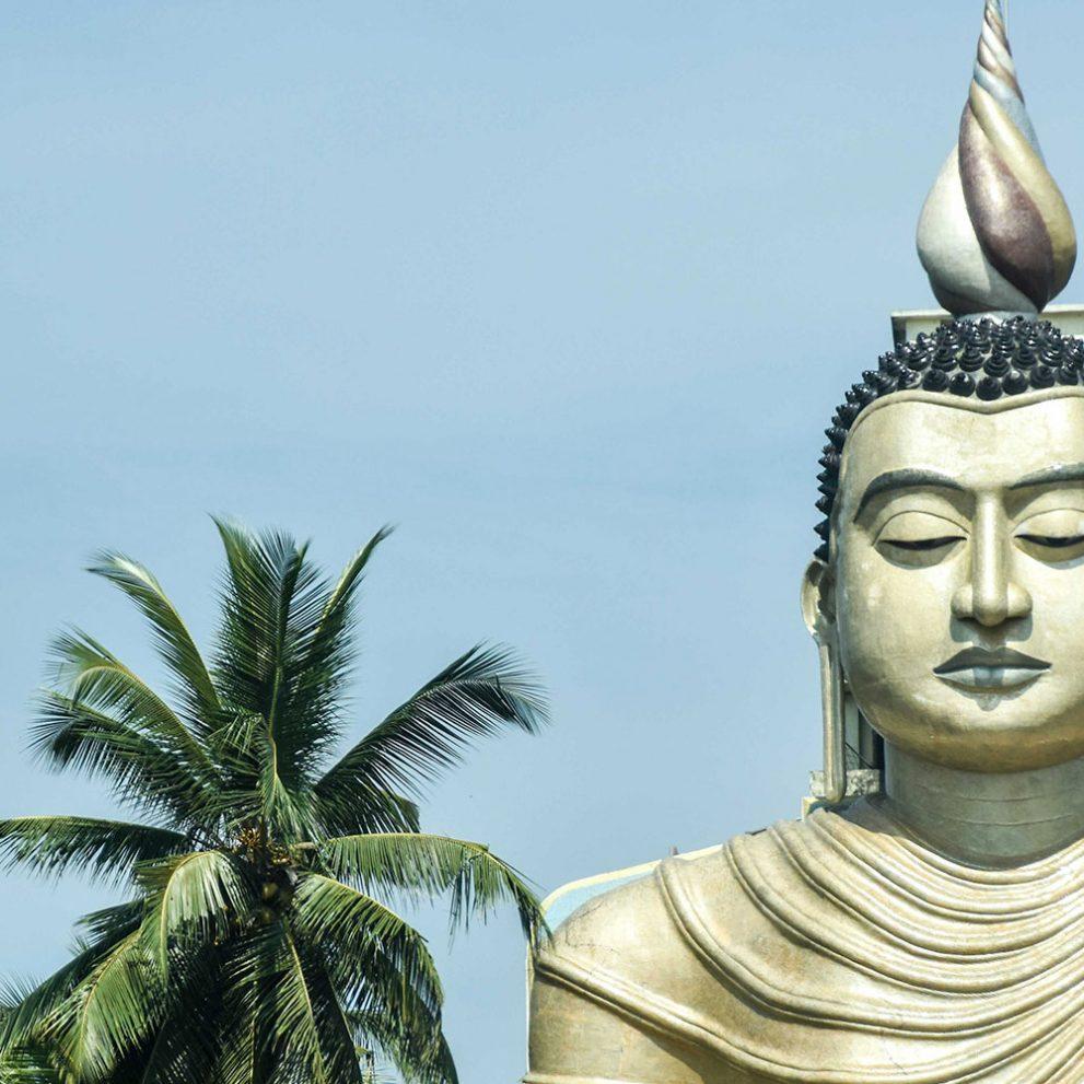 Buddhistischer Tempel in Sri Lanka