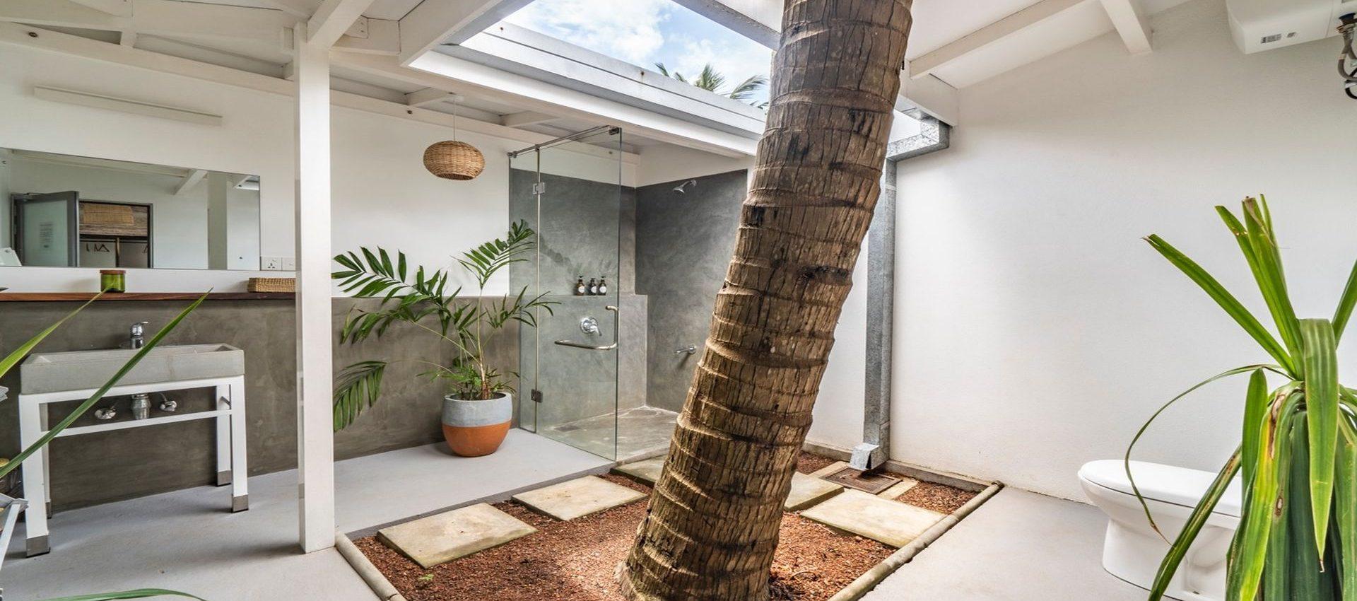 Private open air bathrooms