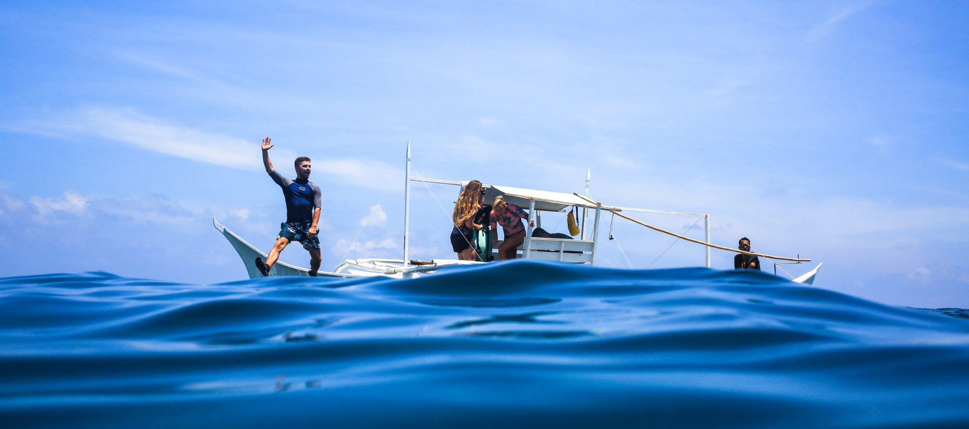Going surfing is always amazing, but going surfing with a private boat is always better.