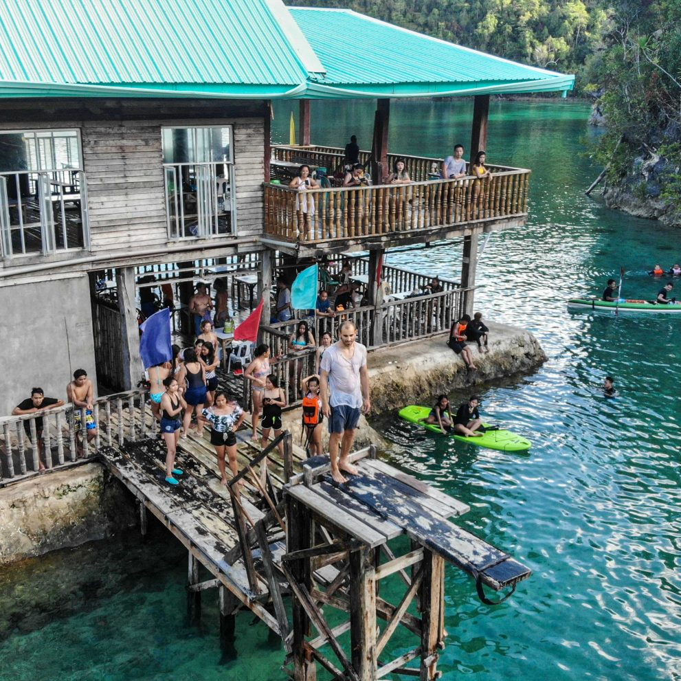 Playgrounds for adults, where you can dive, sup, kayak or just have a drink and chill.