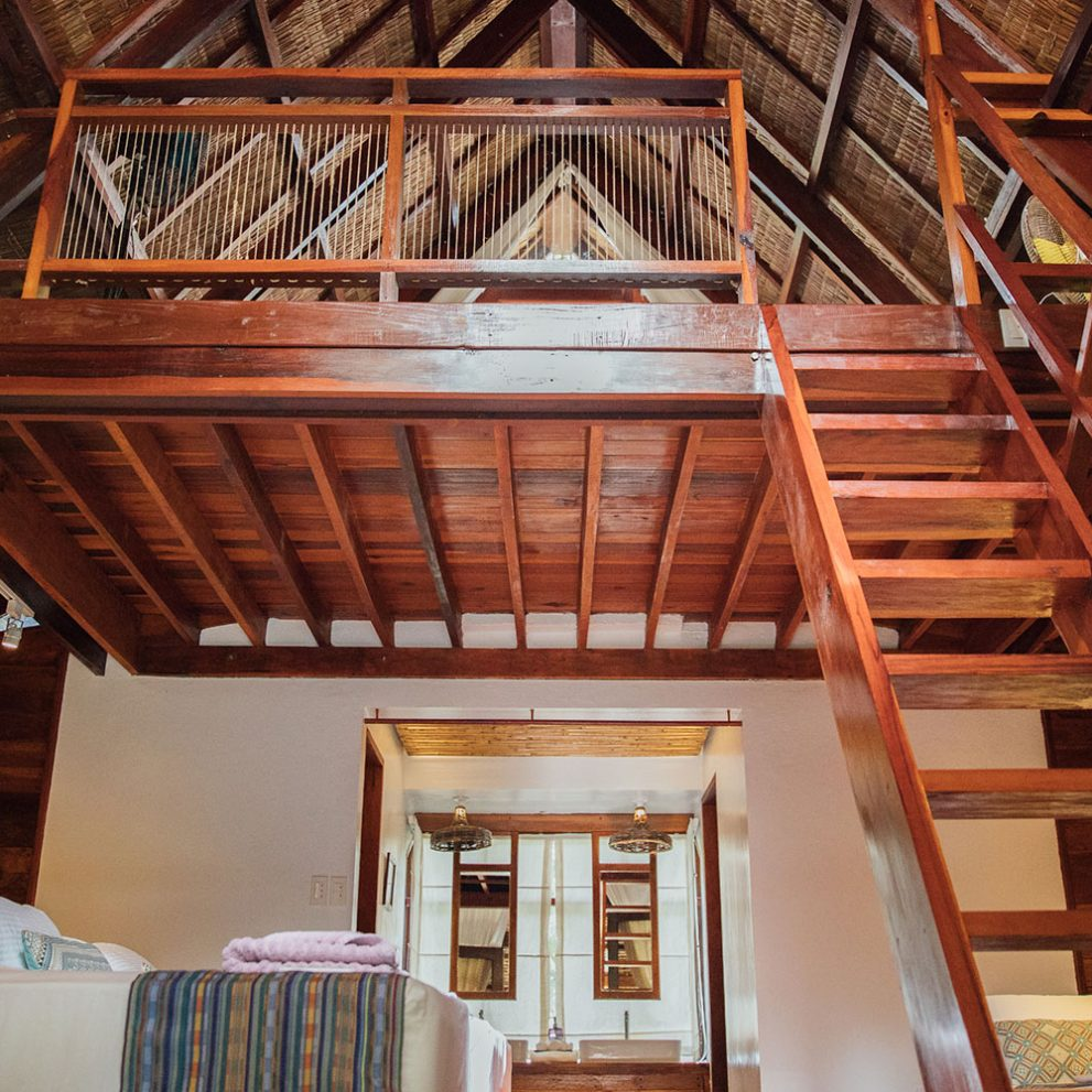 The traditional style, newly built, thatched roofed houses will provide all the comfort that you need.
