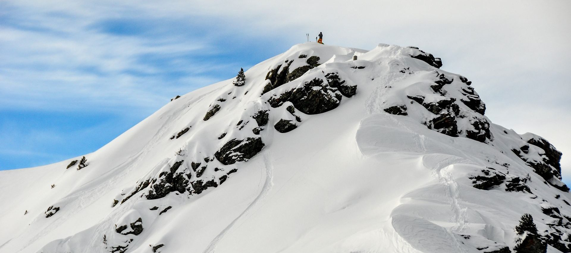 A small hike was needed for this creative line in Nendaz. The second contender of our group is dropping soon.