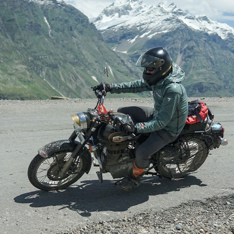 Long windy roads, with a backdrop of the most beautiful snowy mountain peaks.