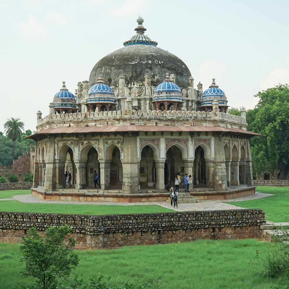 Humayun's tomb is only one of the many treasures of Delhi that we will visit.