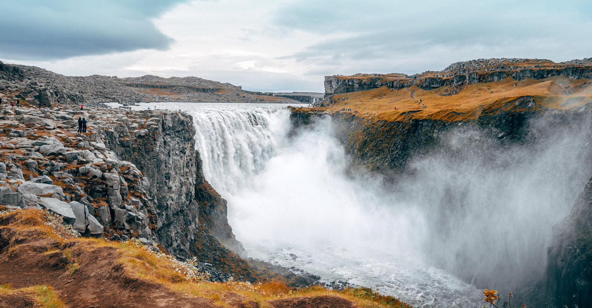 The mighty Dettifoss is one of the most powerful waterfalls on Earth.