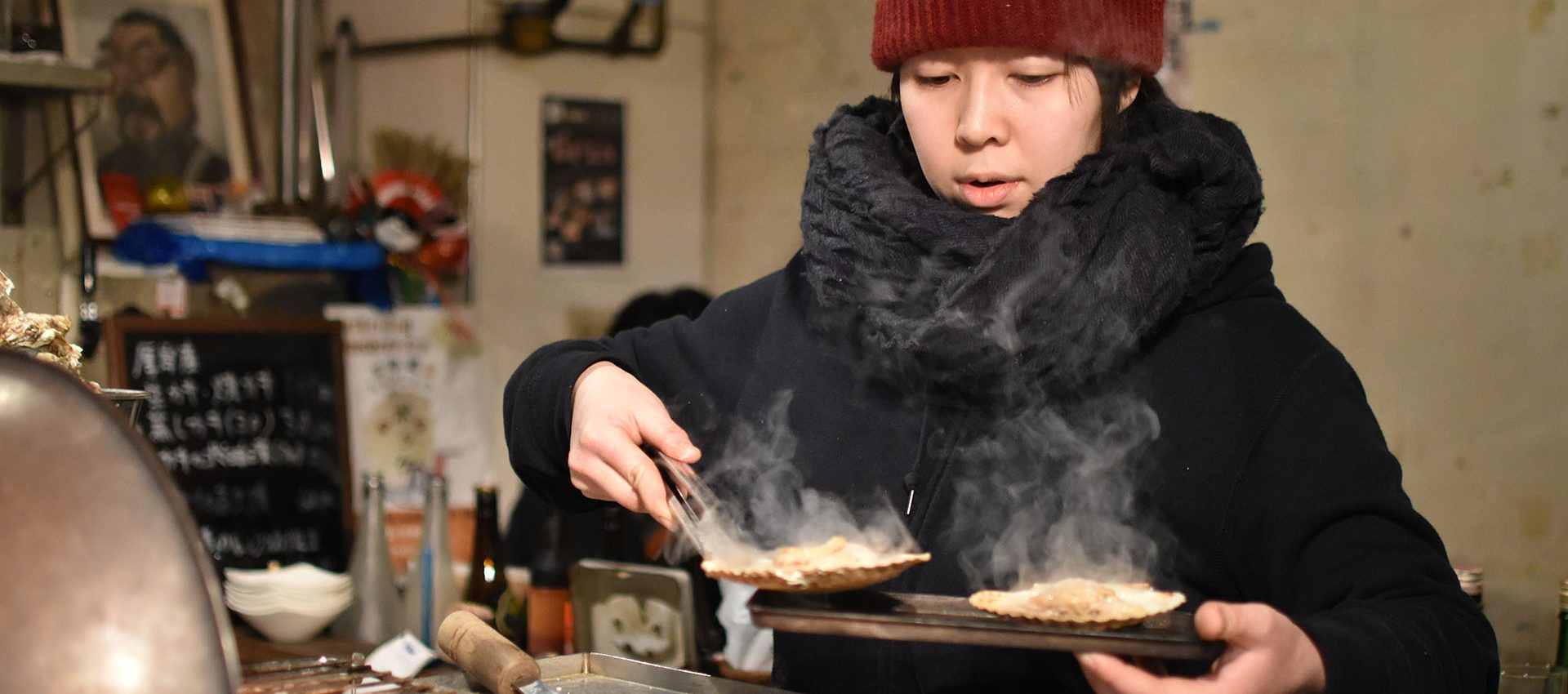 The local street food is amazing, have you ever tried Oysters on grill ?