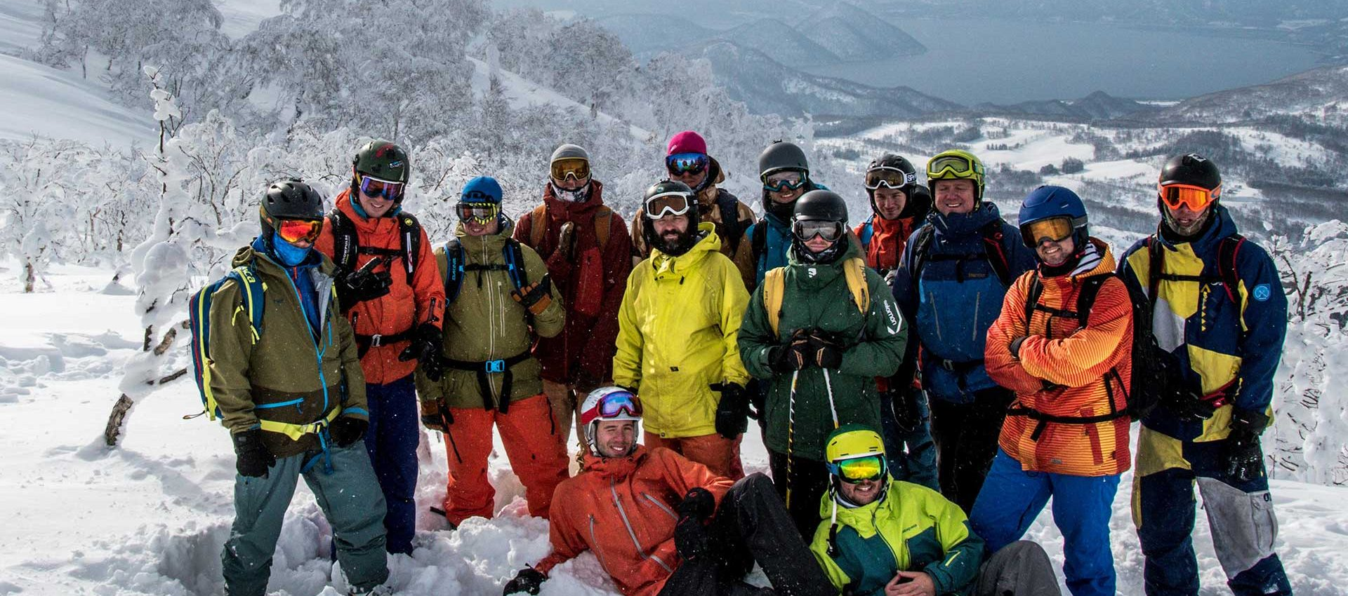 Freeriding and great adventures always bring together a great group of people.