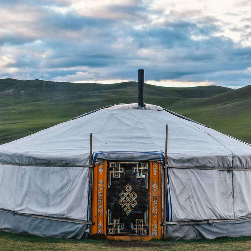 Sleeping in yurt is the best way to experience the vibe of the Steppe.