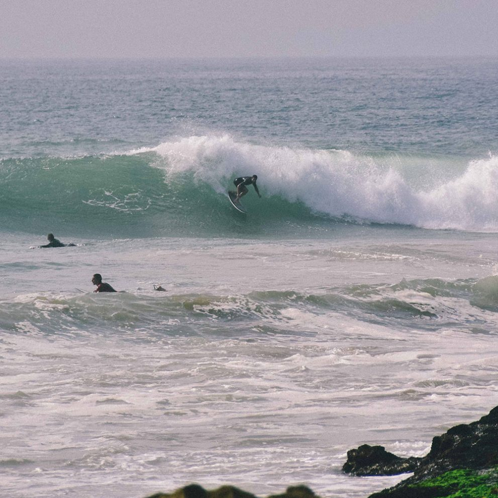 The advanced spot called Boilers produces amazing waves, no wonder surfers from all around the world come to ride it.