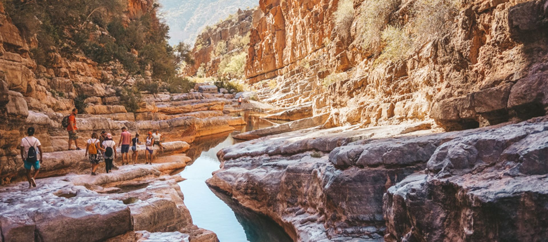The hike up to the natural, fresh water pools of Paradise Valley is an amazing adventure.