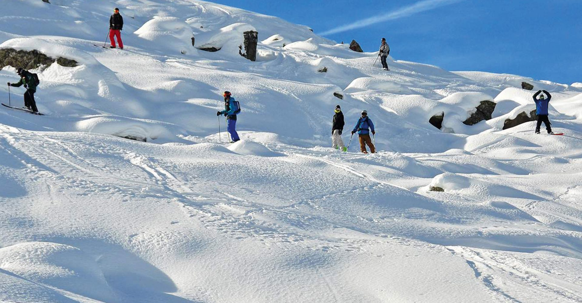 We'll take you to the world's biggest ski resorts where you can hit the slopes on and off-piste. Surrounded by the untouched natural landscape of the Alps.