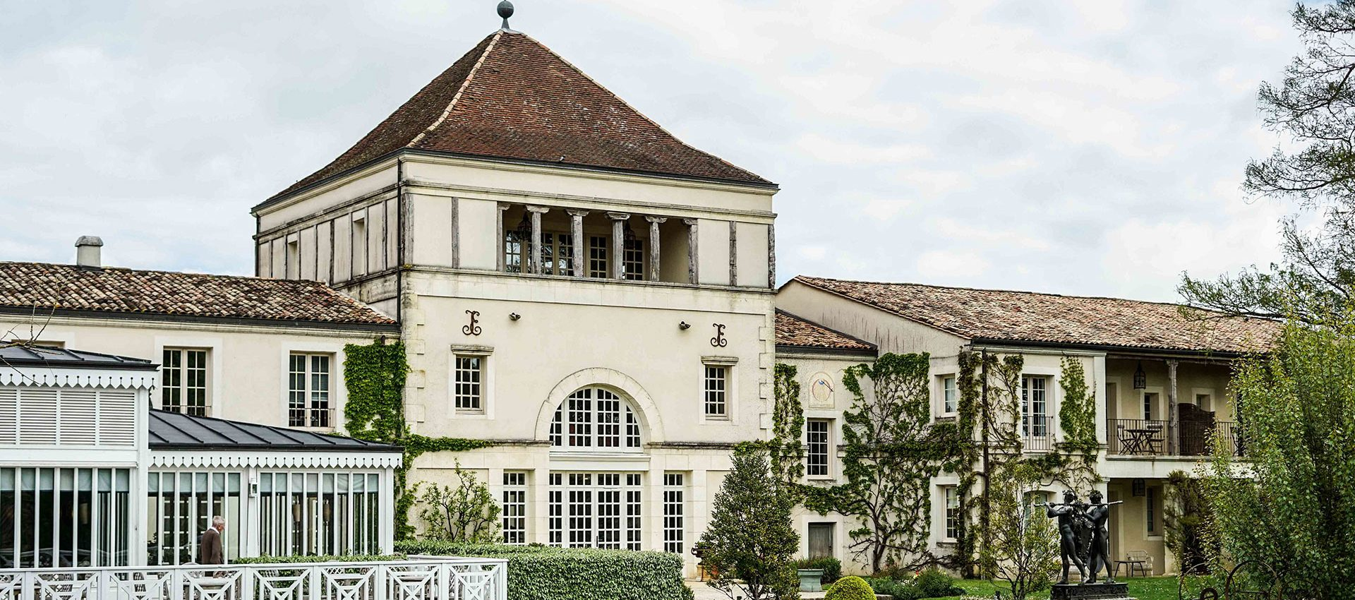 One of the world's best wine regions and a Chateau transformed into a hotel near Bordeaux.