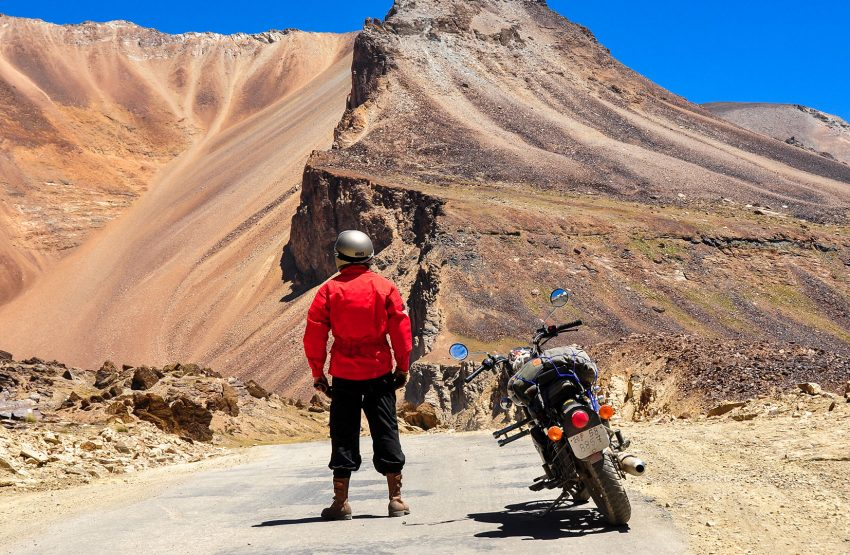 Off road destinations where you would hardly go alone. Entirely organized motorcycle road trips with back up vehicles, mechanics, spare parts and anything else you may need in order to maximize safety.