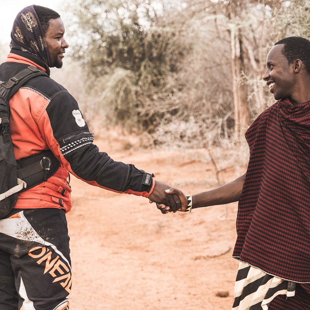 The local Masaai people are always very kind and helpful.