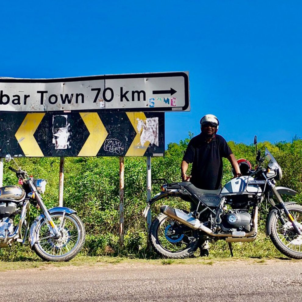 Discovering the Spice Island on two wheels.